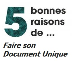 5 bonnes raisons de faire son document unique