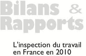 rapport inspection du travail 2010