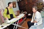 aide pour personne âgée à domicile