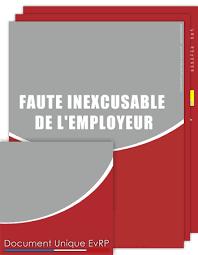 faute-inexcusable-de-l'employeur